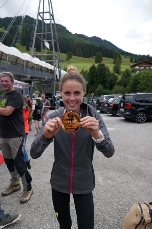 2° vrouw en 1° in haar categorie op 6 Summits Skyrace in Saalbach in augustus.