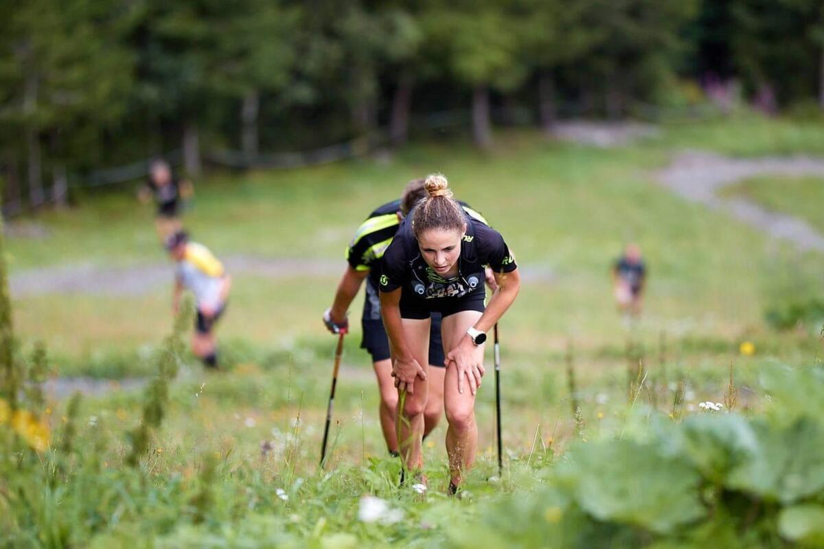 Berglopen is steil bergop lopen !