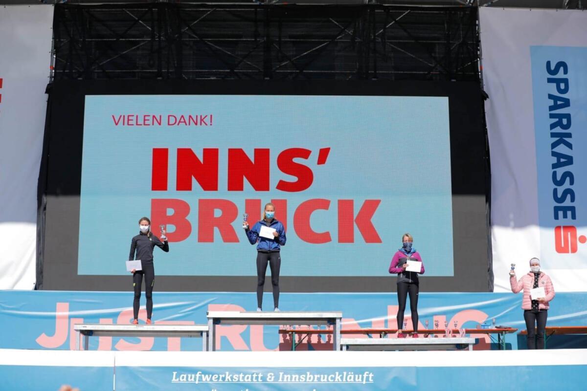 2° vrouw op de 10K Innsbrück Stadtlauf.